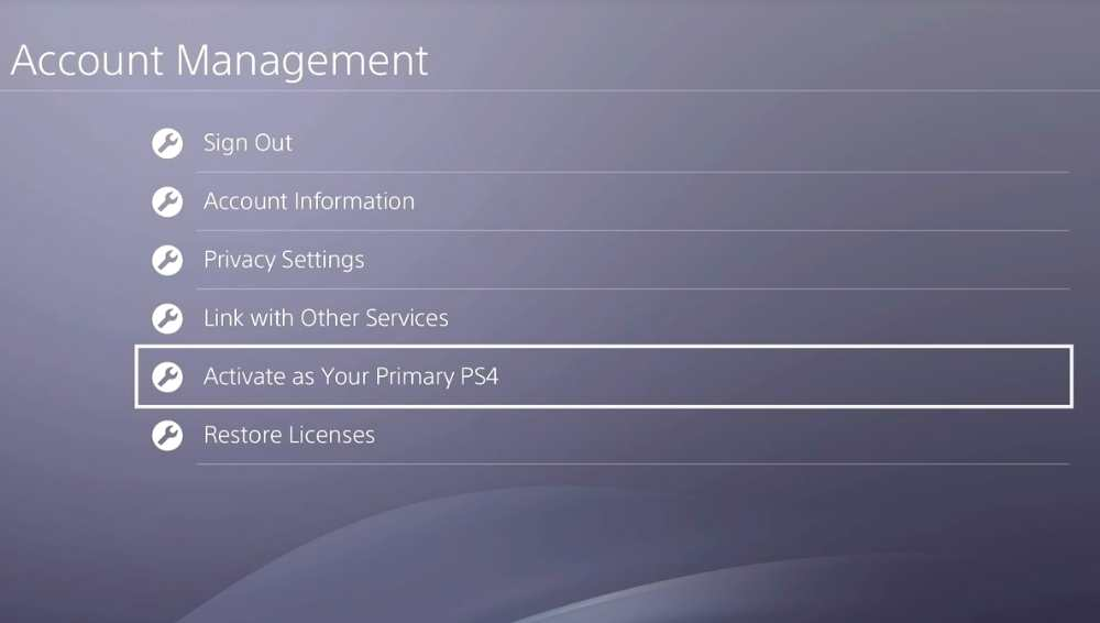 Preparing Ps4 for Connection
