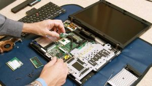 Disassemble the Laptop