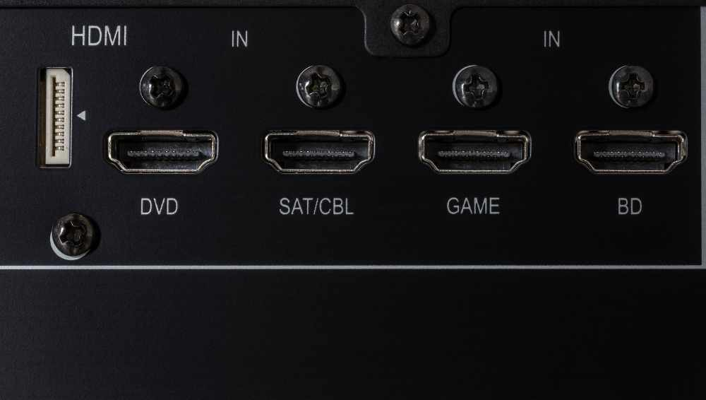 Locate the HDMI (ARC) input on the TV