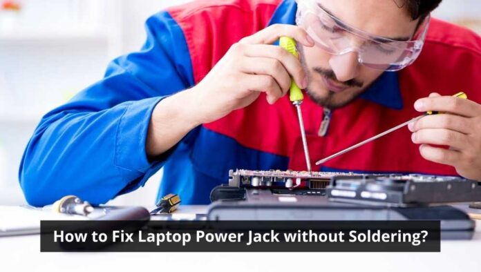 How to Fix Laptop Power Jack without Soldering
