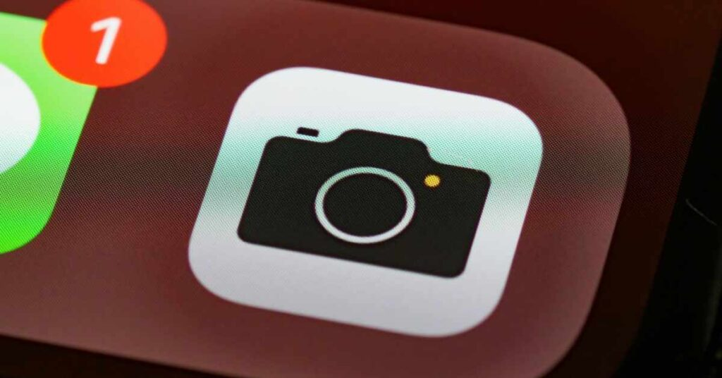 Relaunch your camera app